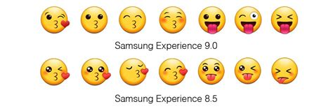Samsung Galaxy S10 Emojis by Android Oreo Samsung Modifie Enfin Ses Emojis Rat 233 S Phonandroid