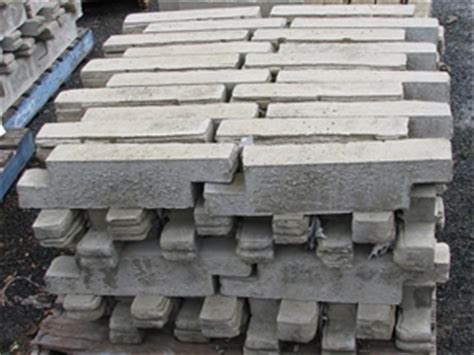 Pallet Approx 80 Walling Blocks Or Garden Edging Ezi Stone Bush Rock Garden Edging