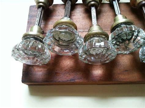 Interior Glass Door Knob Sets glass door knobs with burst interior 9 sets