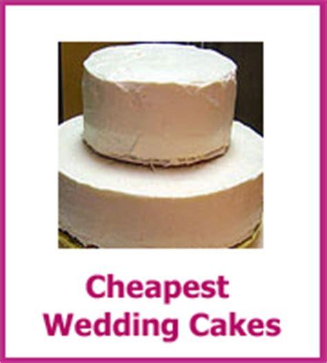 Honest Cheap Wedding Cake Ideas   Saving You Money