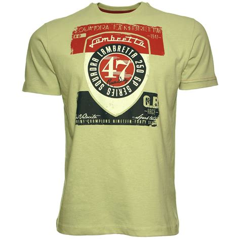 T Shirt Lambretta 5 by Navy Button Classic Sleeve Shirts Lambretta T