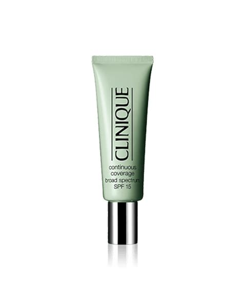 Makeup Clinique continuous coverage makeup broad spectrum spf 15 clinique