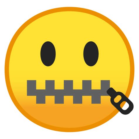 atw   zipper mouth face emoji