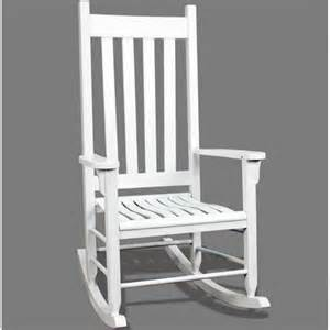 traditional wood rocking chair white to trc w