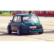 Mini Cooper  Hayabusa Motor Engine 1/4 Mile Drag Race