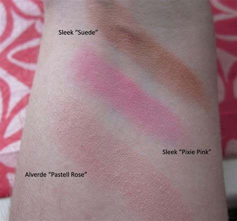 Lipstik Pixy Rosy Pink sleek makeup suede blush review saubhaya makeup