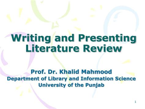 Saturday Review Literature Archives by Ppt Writing And Presenting Literature Review Powerpoint Presentation Id 6870324