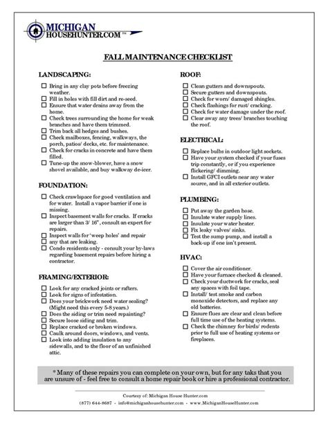 17 best ideas about home maintenance checklist on