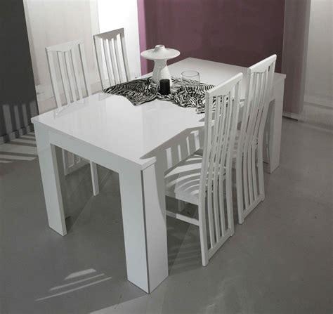 modrest elite modern white italian dining table