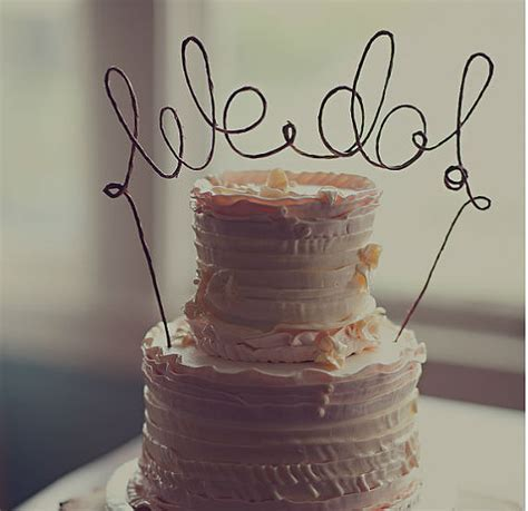 shabby chic wedding cake toppers rustic we do cake topper banner rustic from antoarts on etsy