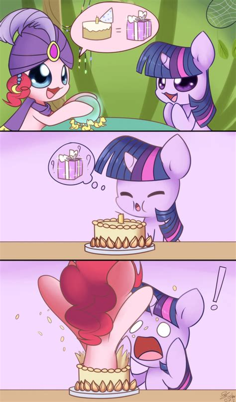 my cool really cool birthday present my little pony friendship