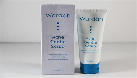 Wardah Acne Scrub best acne soap product without harmful ingredients guide for your skin problem
