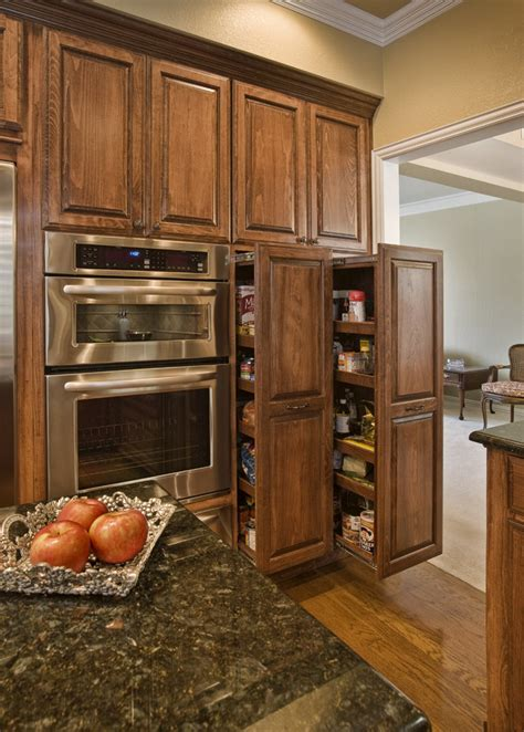 pull out kitchen cabinet pull out pantry cabinet kitchen contemporary with anigre
