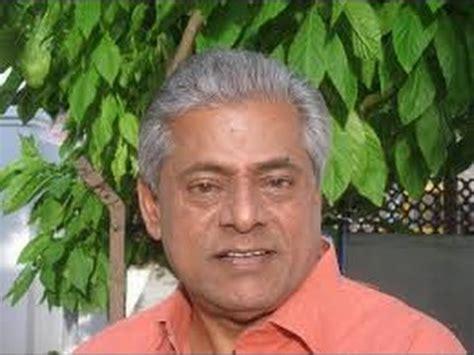 actor delhi ganesh actor delhi ganesh expressing condolences on the demise of