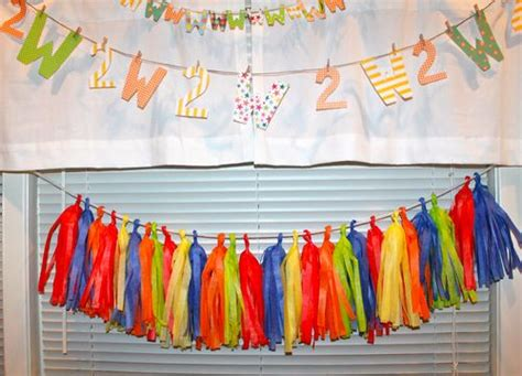 How To Make Tissue Paper Garland - 37 diy paper garland ideas guide patterns