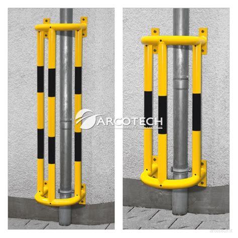 paracolpi per protezioni paracolpi per tubi e pluviali in acciaio