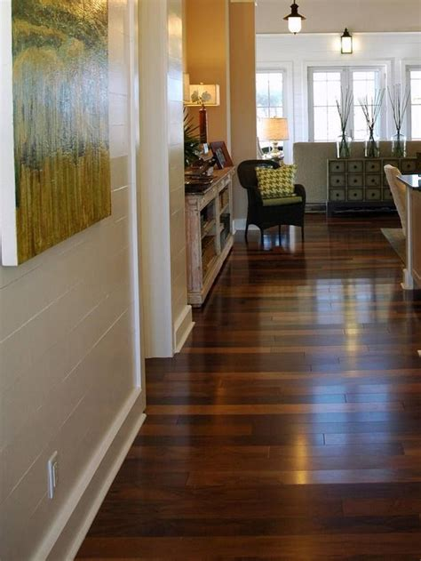 sustainable flooring options sustainableliving it looks like a solid walnut floor but it s not hgtv put together a great