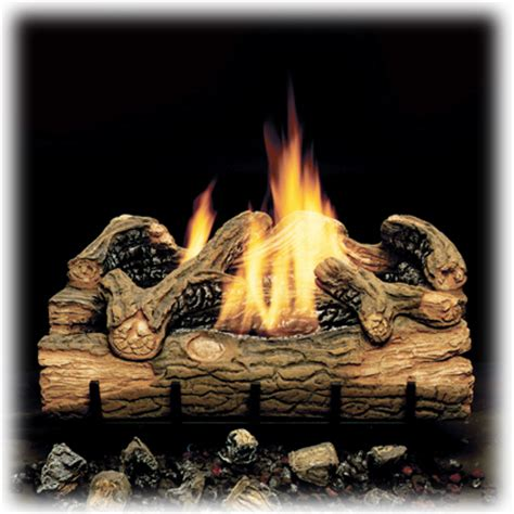 Ventless Fireplace Gas Logs by Monessen Charred Hickory Ventless Gas Logs Manual