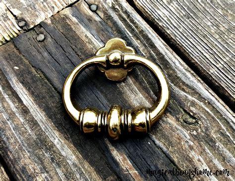 Gold Ring Drawer Pulls by Gold Ring Pulls Vintage Brass Drawer Pulls Kbc Gold Dresser
