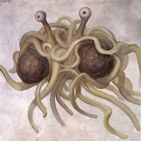 mostro spaghetti volante tonyface il pastafarianesimo