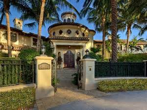 mediterranean homes architecture corner luxury mediterranean home florida