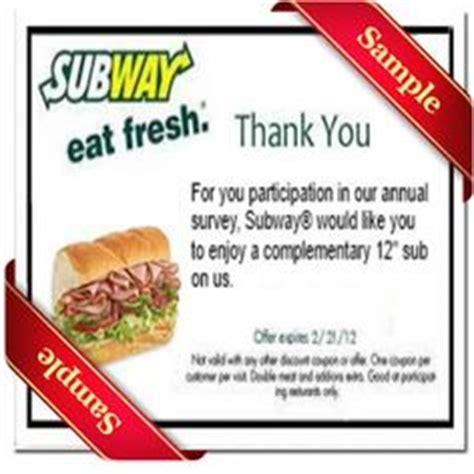 free printable subway coupons 2014 1000 images about printable coupons january on pinterest