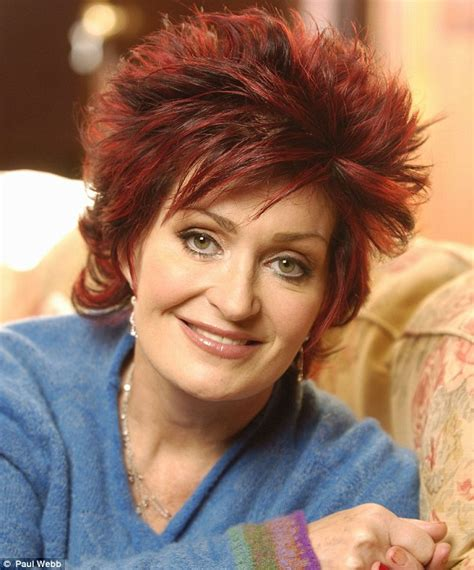 what does sharon ozbournes hair look like in the back sharon osbourne reveals the full extent of her plastic