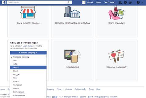 membuat facebook dari hp cara mudah membuat fanspage di facebook lewat hp android