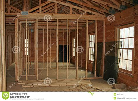 Building Interior Walls by Building A Home Stock Photography Image 32521102