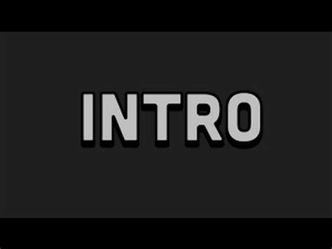 Amazing 2d Intro Template No Text Youtube 2d Intro Template No Text