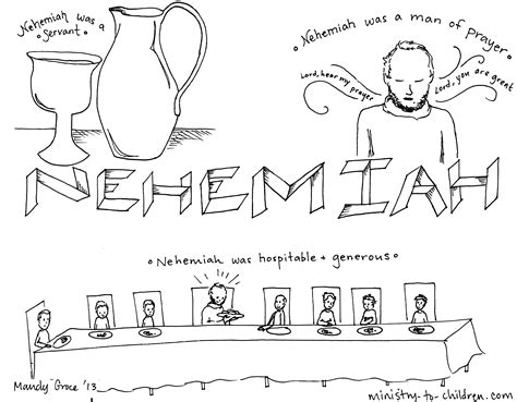 Nehemiah 8 Coloring Pages by Nehemiah Jpg 6541 215 5100 Friendship Coloring Sheets