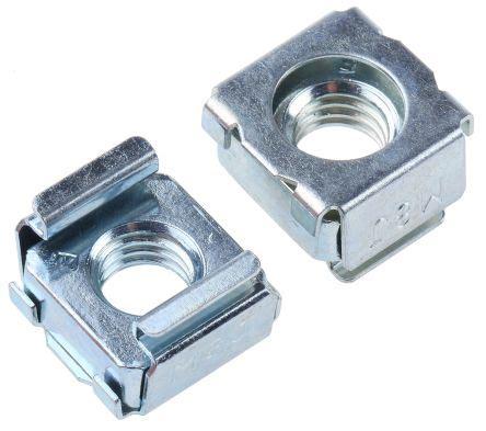 dadi a gabbia 409 17 dado a gabbia in acciaio zincato rs pro 16 5mm
