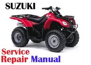 Suzuki Atv Service Manual Free Suzuki