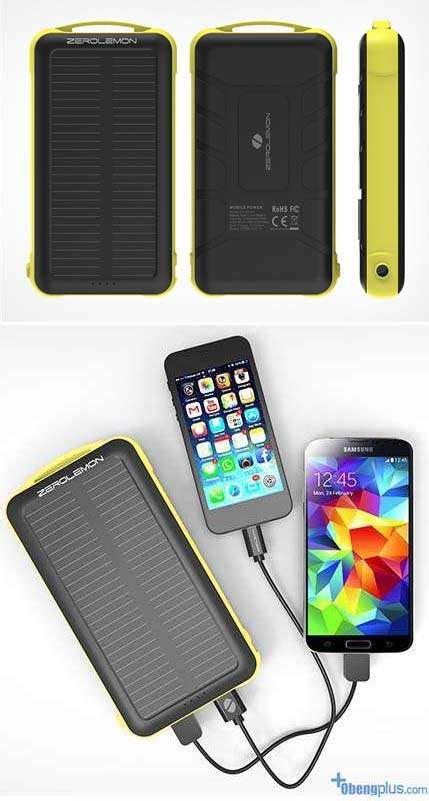 Murah Powerbank Solar Emergency Daya 200000mah 20 Led Lu Emergency powerbank zero lemon 20 000mah seukuran smartphone