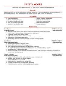 server resume objective by crysta writing resume