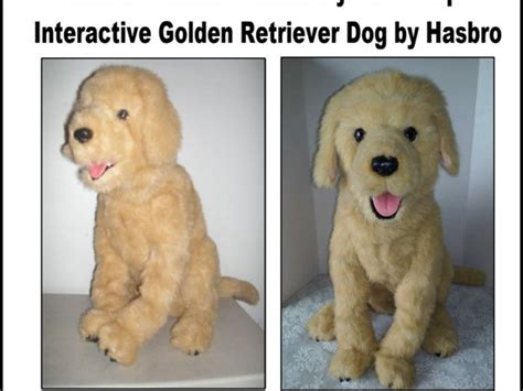 furreal golden retriever furreal friends biscuit my lovin pup interactive golden retriever by hasbro for