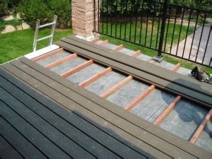 building  deck   flat roof  builders blog