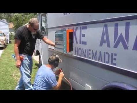 food truck exhaust fan chapmans take away food truck building a food truck