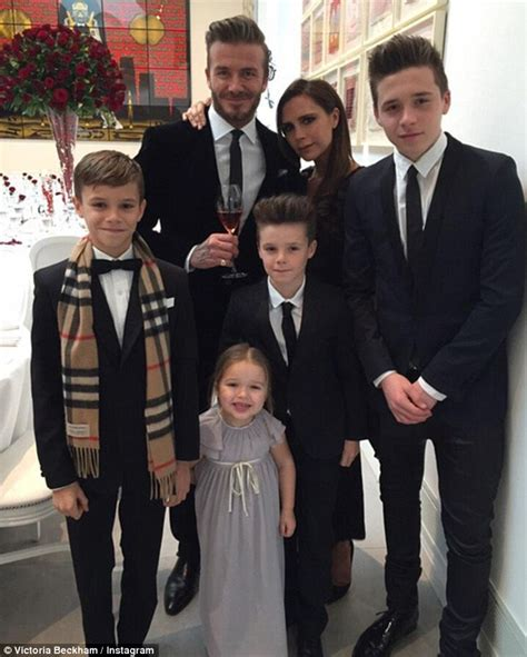 david beckham and his family biography david beckham reflects on his very normal family