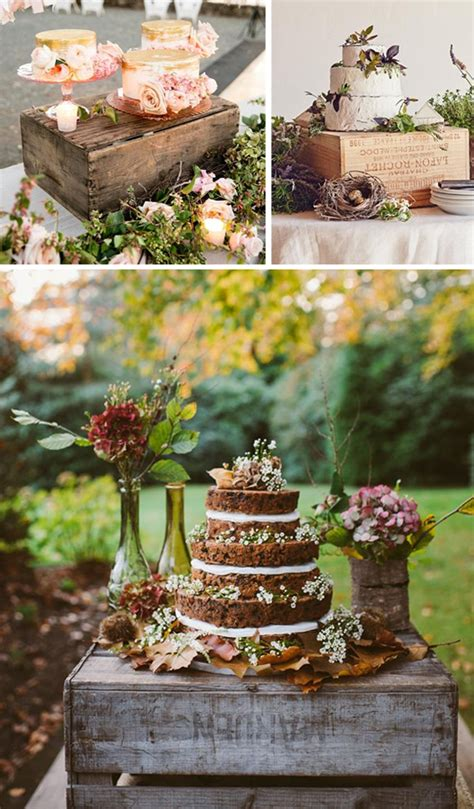 mesas de dulces para bodas cajas de madera en bodas tartas y mesas de dulces