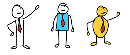 some more free characters for your elearning course building a three step process to create hand drawn custom