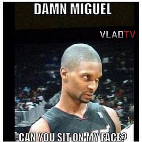 Miguel Meme - exclusive pow right in the kisser funniest miguel leg