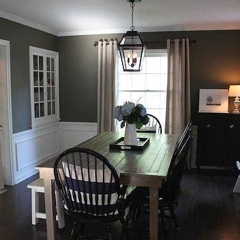 Restoration Hardware Kitchen Island by Dark Gray Dining Room Design Ideas