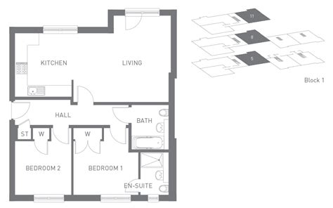 two bedroom hall kitchen house plans house styles