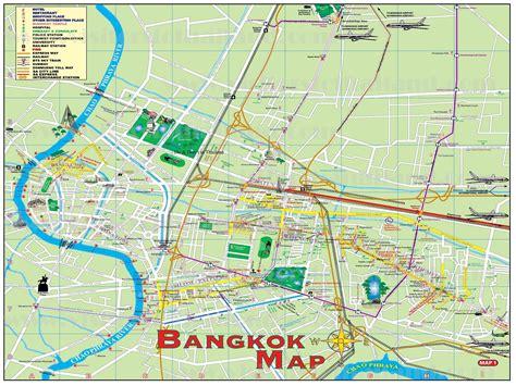 bangkok map map of bangkok map of africa