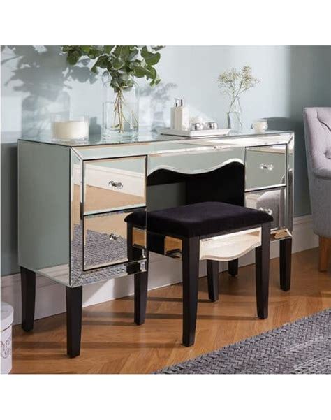 Bedroom Furniture With Dressing Table Dressing Tables Palermo 4 Drawer Dressing Table Contemporary