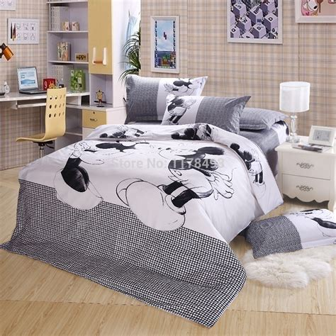 comforter for sale 2015 new fashion mickey mouse bedding sets 4pcs cotton