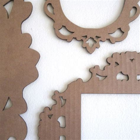 Handmade Cardboard Photo Frames - 17 best ideas about cardboard picture frames on