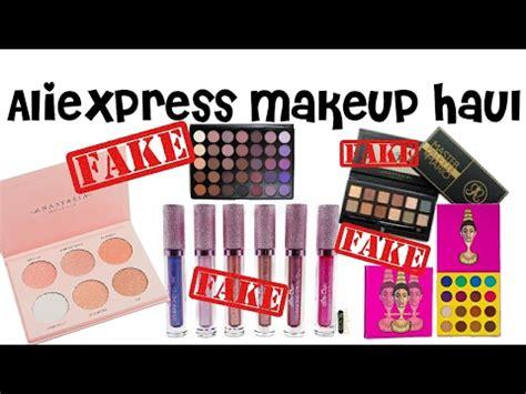 aliexpress fake aliexpress makeup haul fake nicole guerriero glow kit