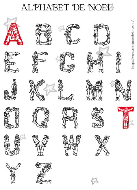 Alphabet De No 235 L 224 Colorier Lettres P 232 Re No 235 L T 234 Te 224 Coloriage Magique Lettres Alphabet Maternelle L